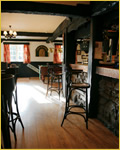 photo of bar at the Three Horseshoes, Allensmore near Hereford
